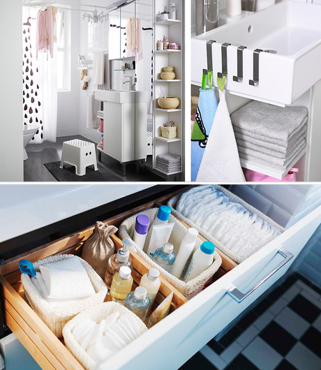 Juegos De Organizar Baños:Ideas para organizar el cuarto de baño – Paperblog
