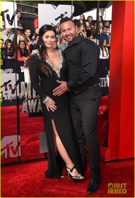 Snooki y Jwoww embarazadas en los movie awards - Paperblog