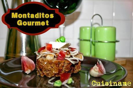 Montaditos originales tapas con gulas jam n ib rico y for Tapas originales para sorprender