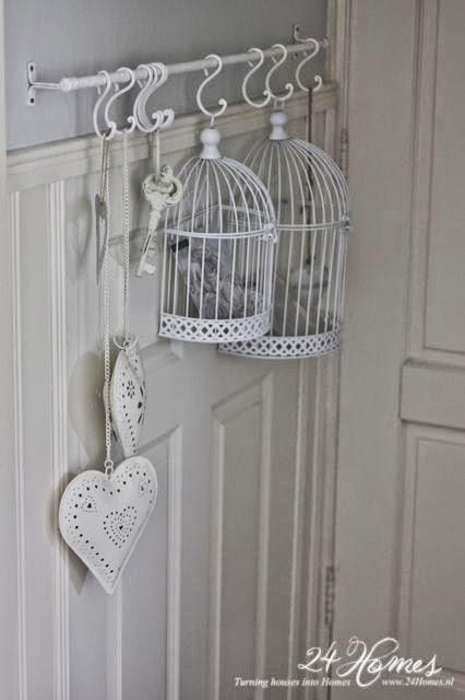 11 formas diferentes de decorar con jaulas paperblog - Jaulas decorativas ikea ...