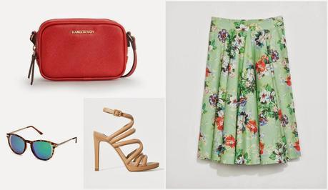 GET THE LOOK: FLORAL SKIRT