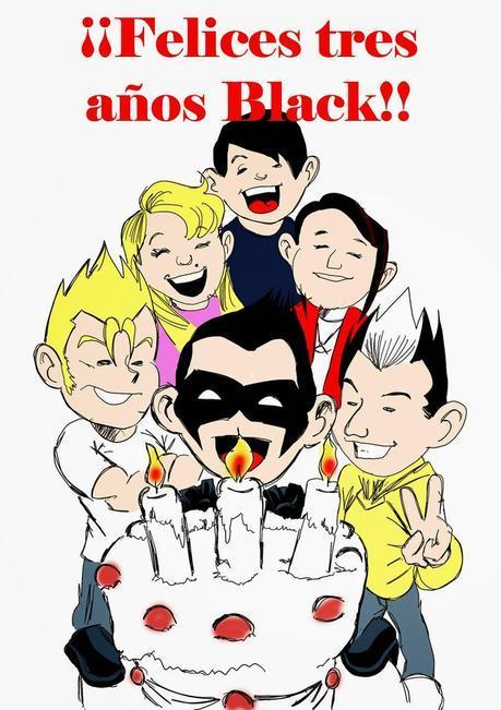 ¡¡FELIZ CUMPLEAÑOS BLACK!! ¡¡VAN TRES AÑOS Y TODAVÍA SE VIENEN MAS...!!