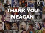 Gracias Meagan Marie, THANK MEAGAN