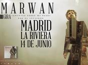 Presentación nuevo disco marwan madrid: sábado junio riviera