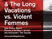 JOSH ROUSE VIOLENT FEMMES, MADRID, MAYO, SALA SHOKO.