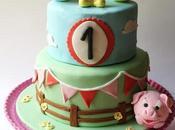 Mickey Mouse's farm Cake! Tarta granja Mouse!