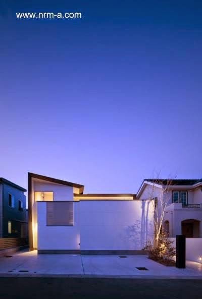 Casa japonesa peque a ultramoderna paperblog - Casa ultramoderna ...