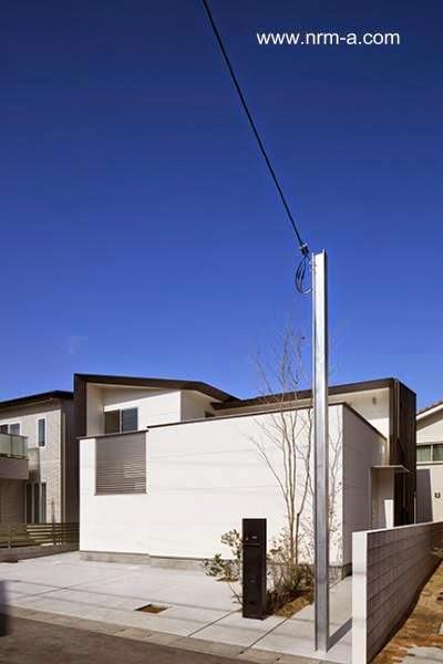 Casa japonesa peque a ultramoderna paperblog for Casa ultramoderna