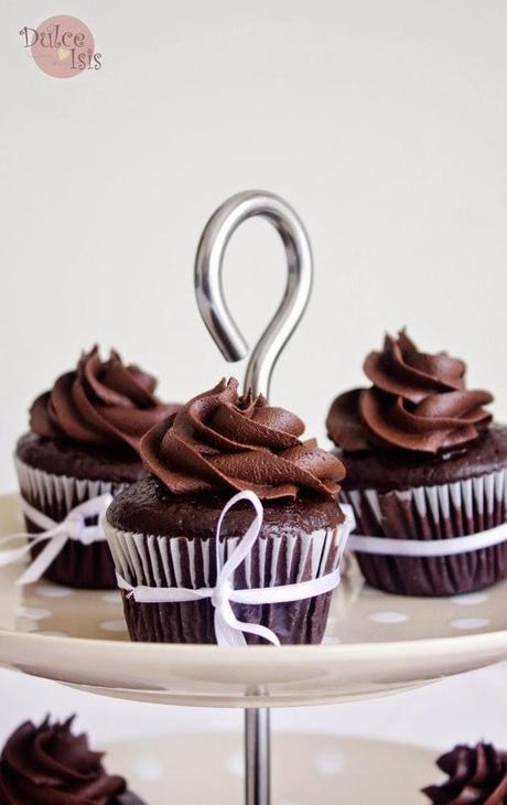 Cupcakes Mojaditos de Chocolate
