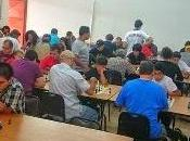 tarde generosa ajedrez blitz tenemos nuevo campeón: Bernal González