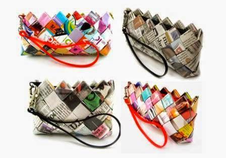 http://www.amarilloverdeyazul.com/2011/02/bolsos-disenados-con-papel-de-periodico-y-papel-de-revista/