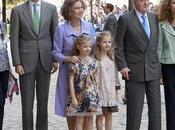 Reyes, Príncipes Asturias celebran Pascua Palma