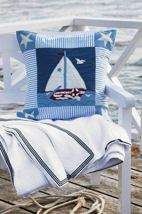 Tendencias verano 2014 estampados marineros summer for Decoracion marinera ikea