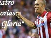 Atlético: cuatro victorias gloria