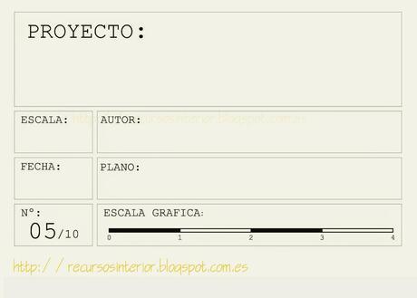 Pie de plano cajet n arquitectura dwg archivo 8 paperblog for Pie de plano arquitectonico pdf