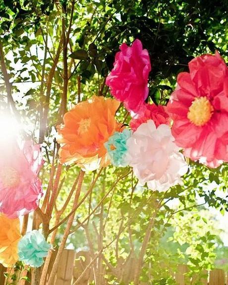 Fiesta en el jard n paperblog - Decoracion fiesta jardin ...
