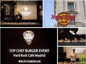 HARD ROCK CAFÉ MADRID: Nueve nuevas hamburguesas musicales.