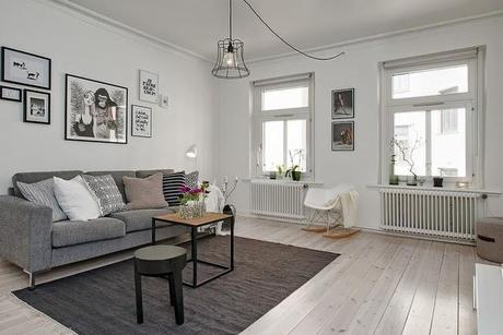 Decorar con estilo un piso en blanco y negro paperblog - Decorar piso estilo vintage ...