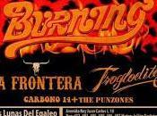 Hell Paso Rock Fest Leganés: Burning, Frontera, Trogloditas, Carbono Punzones
