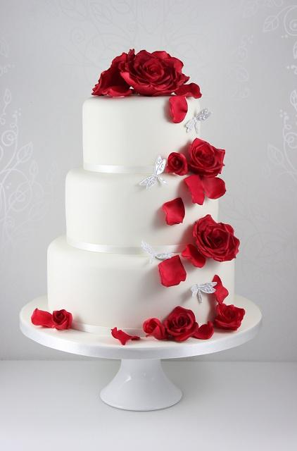 red wedding cake pictures ideas originales para bodas en sant jordi ideas de 19169