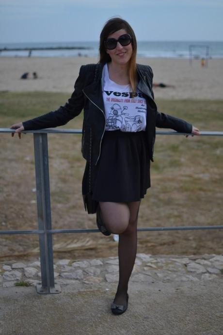 Look of the day: Vespa t-shirt