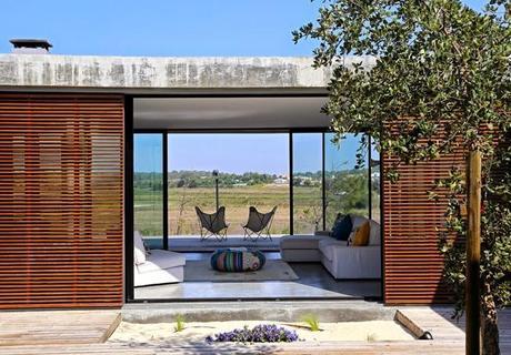 casa minimalista en la playa paperblog