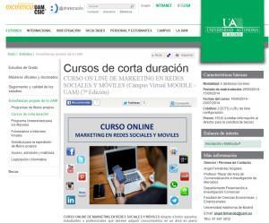 Cursos marketing online