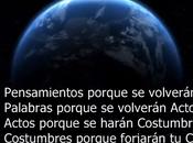 PODER PENSAMIENTO NUESTRAS VIDAS Vídeo