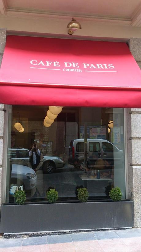 L´entrecote Café de París