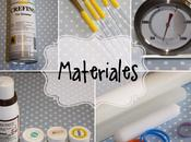 Materiales para decoración tartas Fondant