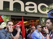 FNAC, crónica huelga trabajadores