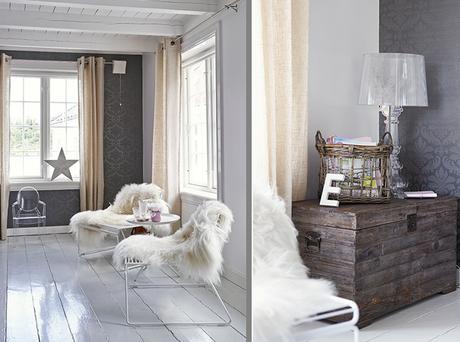 Una rom ntica casa de estilo n rdico paperblog - Casa estilo nordico ...