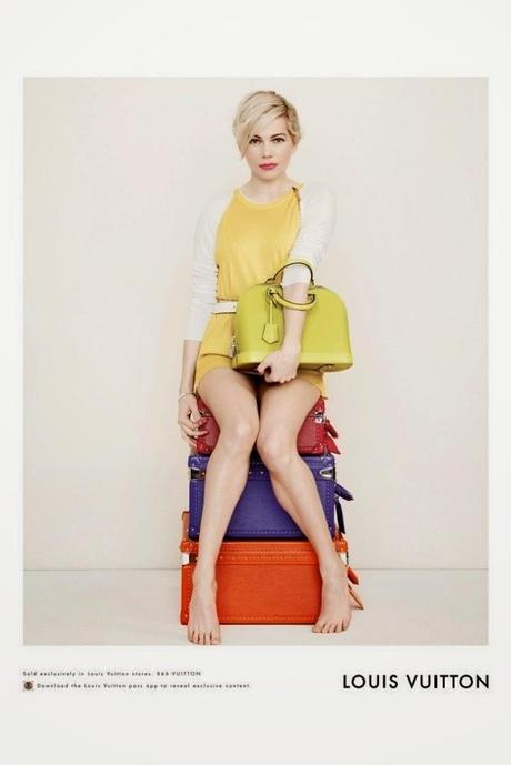 Michelle Williams para Louis Vuitton