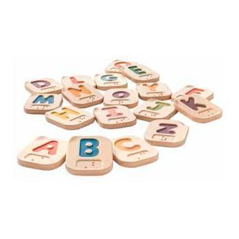 juguete para niños con discapacidad visual | Alfabeto en Braille