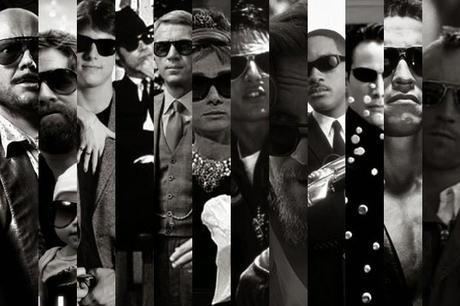 Gafas de sol y cine
