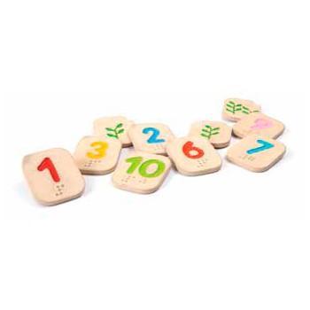 juguetes para nios con visual nmeros del al en braille