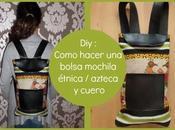 :Como hacer bolsa mochila étnica costura fácil (Patrón gratis)