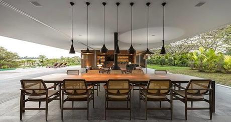 casa minimalista en brasil paperblog