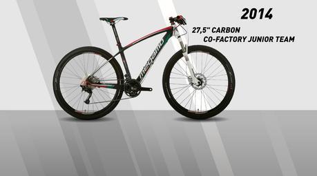La línea Co-Factory, cuadros de carbono, integran 5 nuevas versiones para el 2014.