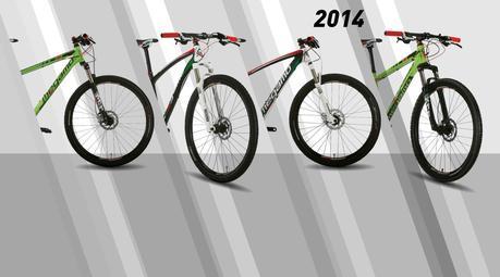 Megamo y las novedades en su línea de bicicletas de montaña para el 2014.