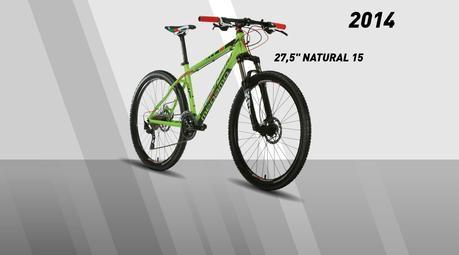 Los cuadros de aluminio, Natural, son confiables y resistentes para el ciclismo de montaña.