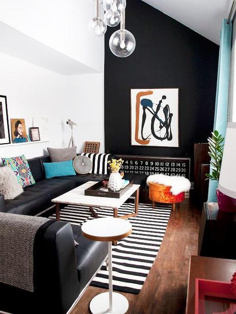 Tendencias decorando con negro paperblog for Decorando mi sala