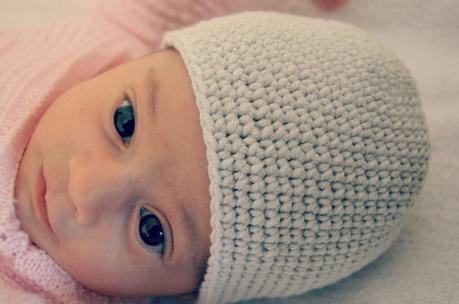 Gorrito de ganchillo para beb paperblog - Gorritos bebe ganchillo ...