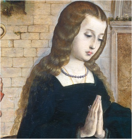 Exquisito peinados edad media Fotos de tutoriales de color de pelo - El peinado en las mujeres del siglo XVI ¡¡Viva la Moda ...