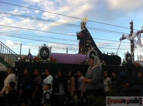 Virgen de la Soledad - Parroquia San José, San José Pinula (2014)