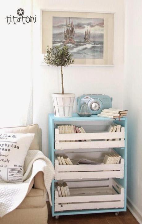 Diy decorar con cajas de madera paperblog - Decorar cajas de madera con papel ...