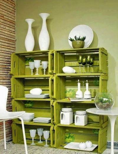 Diy decorar con cajas de madera paperblog - Trasteros de madera para jardin ...