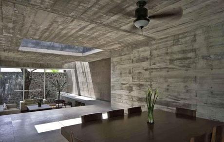 Casa de hormigon en mexico paperblog for Casa moderna hormigon