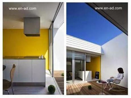 Casa moderna con forma de prisma rectangular.   paperblog