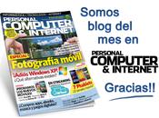 """Somos mejor blog Abril según revista """"Personal Computer Internet"""""""